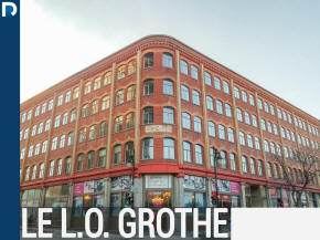 LO Grothe lofts and apartments for sale and for rent Place des Arts Montreal