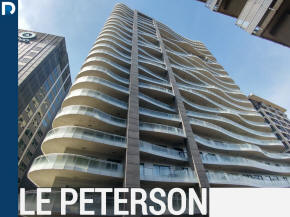 Le Peterson condos, lofts and apartments for sale near McGill University and the Place des Arts