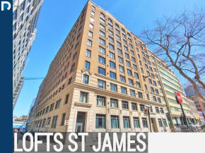 Le Lofts St James Condos and Lofts for sale and for rent with Alex Kay and Remax Westmount in the Quartier des Spectacles