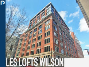 Wilson lofts 1061 St Alexandre condos, lofts and apartments for sale